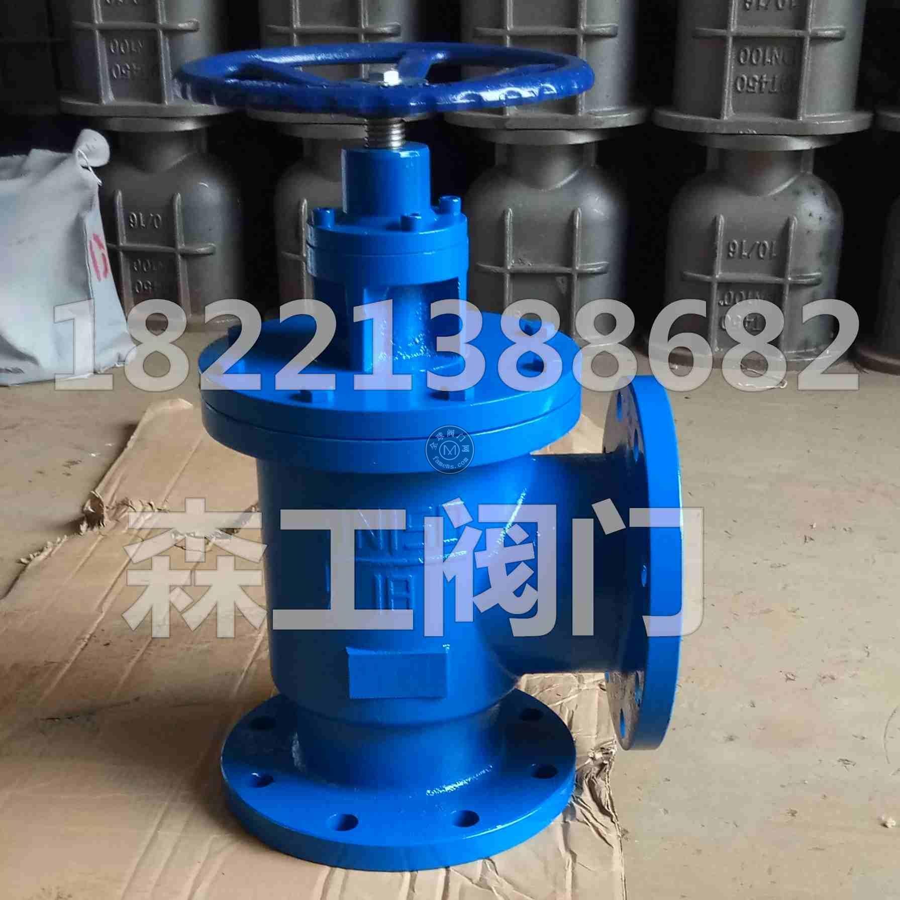 J41X-10排泥閥安裝圖紙排泥閥廠家