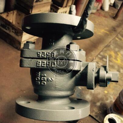 Q41F-150LB美标铸钢法兰球阀