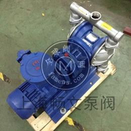 上海晶泉電動隔膜泵DBY-40不銹鋼防腐蝕