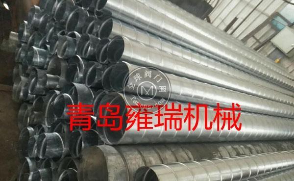 白鐵管道,螺旋管道,不銹鋼螺旋管道,共板法蘭管道