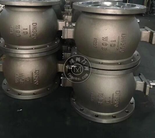气动碳钢V型球阀
