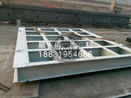 3X3河道钢闸门安装
