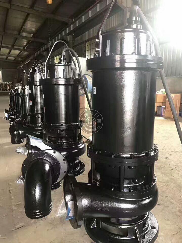 污水污物潜水泵,大流量潜水泵
