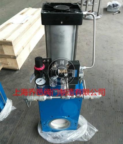 自动吹扫气动陶瓷单闸板闸阀Z643TC自动排灰进料阀