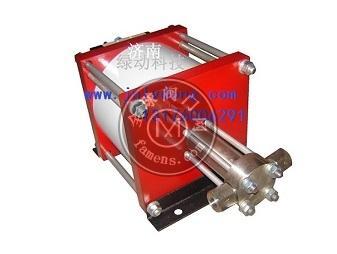 气动氦气增压泵
