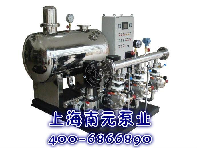 上海南元SNYWG罐式无负压管网增压稳流供水设备