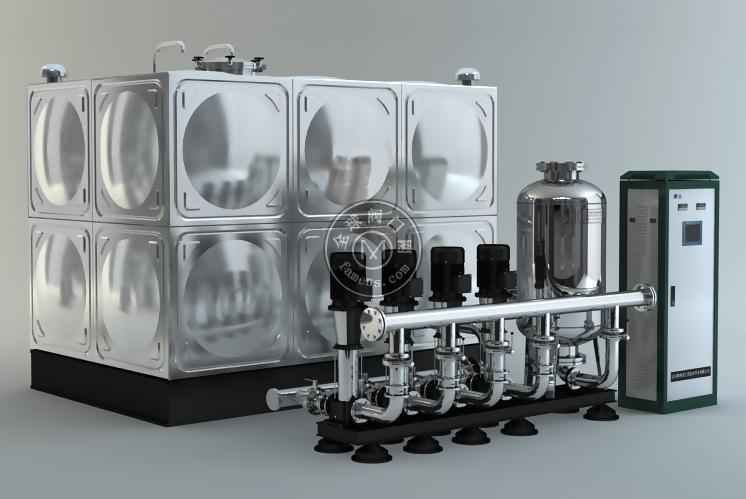 上海南元SNYWX箱式無負壓管網疊壓供水設備