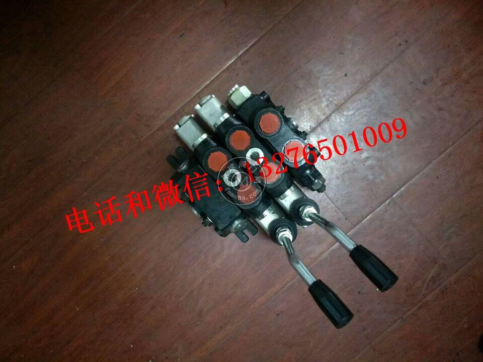 DCV60/100多路阀  强田替代阀  手动 气动阀