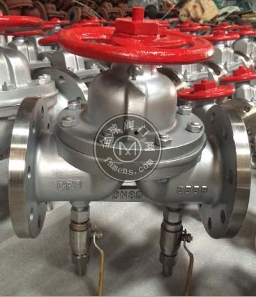 带排气孔隔膜阀G41W-10P带排气孔不锈钢304法兰隔膜阀