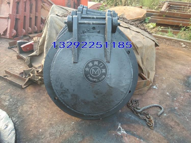 铸铁圆形拍门dn800安装方法