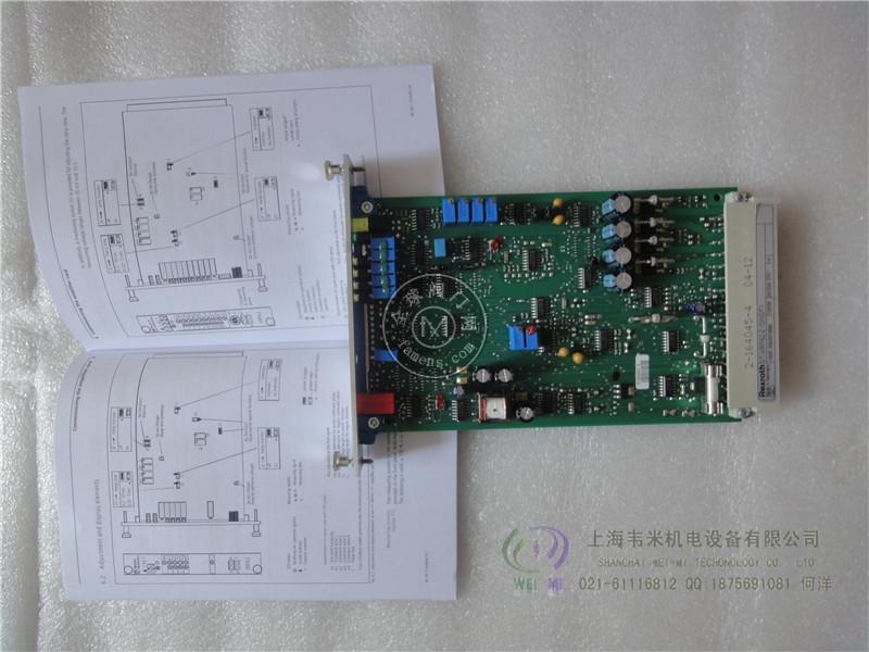 REXROTH比例放大板VT-VRPA2-2-1X/V0/T1