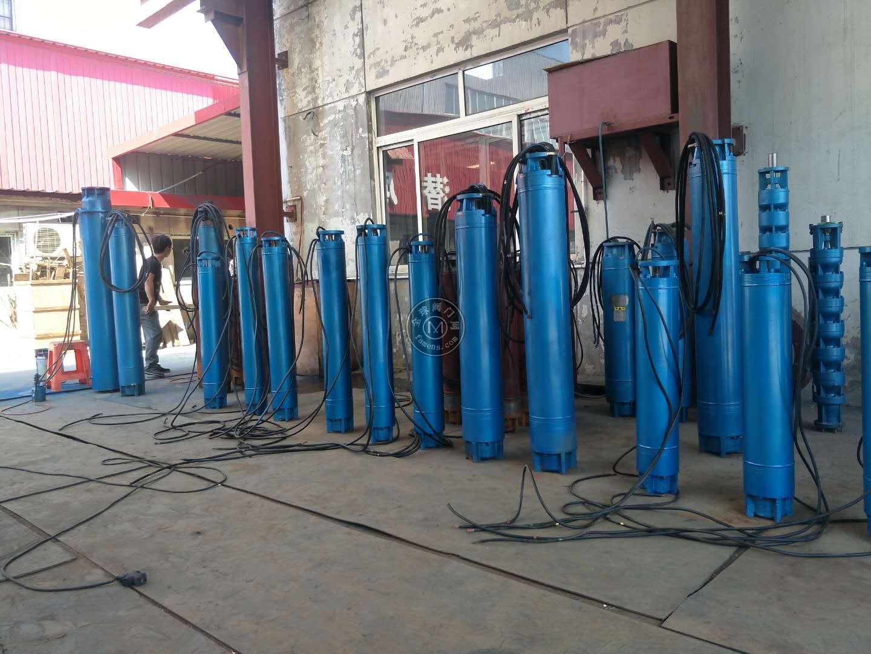 QJR热水井用潜水泵-300米扬程耐高温深井泵