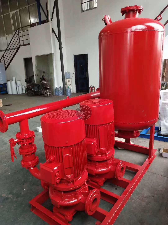消防强制认证喷淋泵/室内安装稳压泵/消防切线泵型号