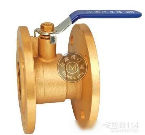 黄铜法兰球阀 Q41F-16T