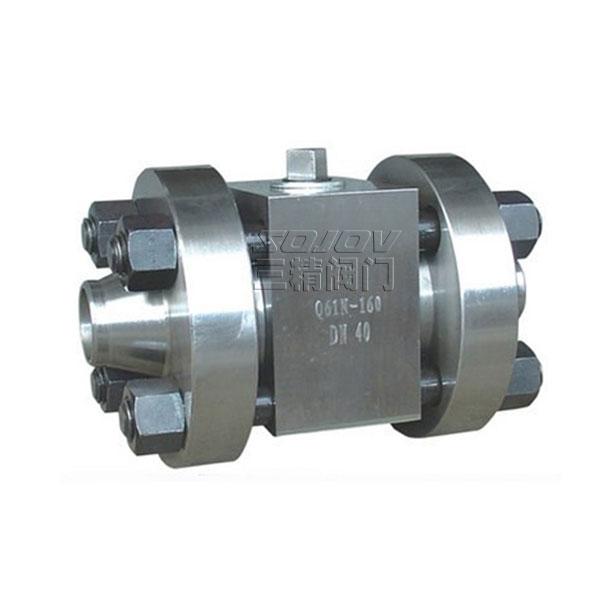 焊接球閥Q61Y段鋼高壓球閥