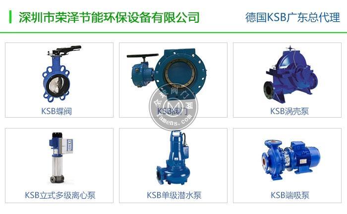 德國KSB水泵-來電即報價-深圳代理