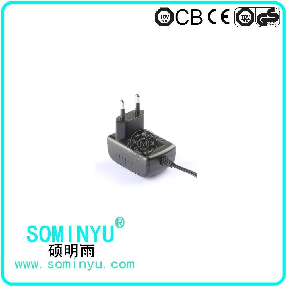 12V0.5A欧规电源适配器 过CE GS认证电源