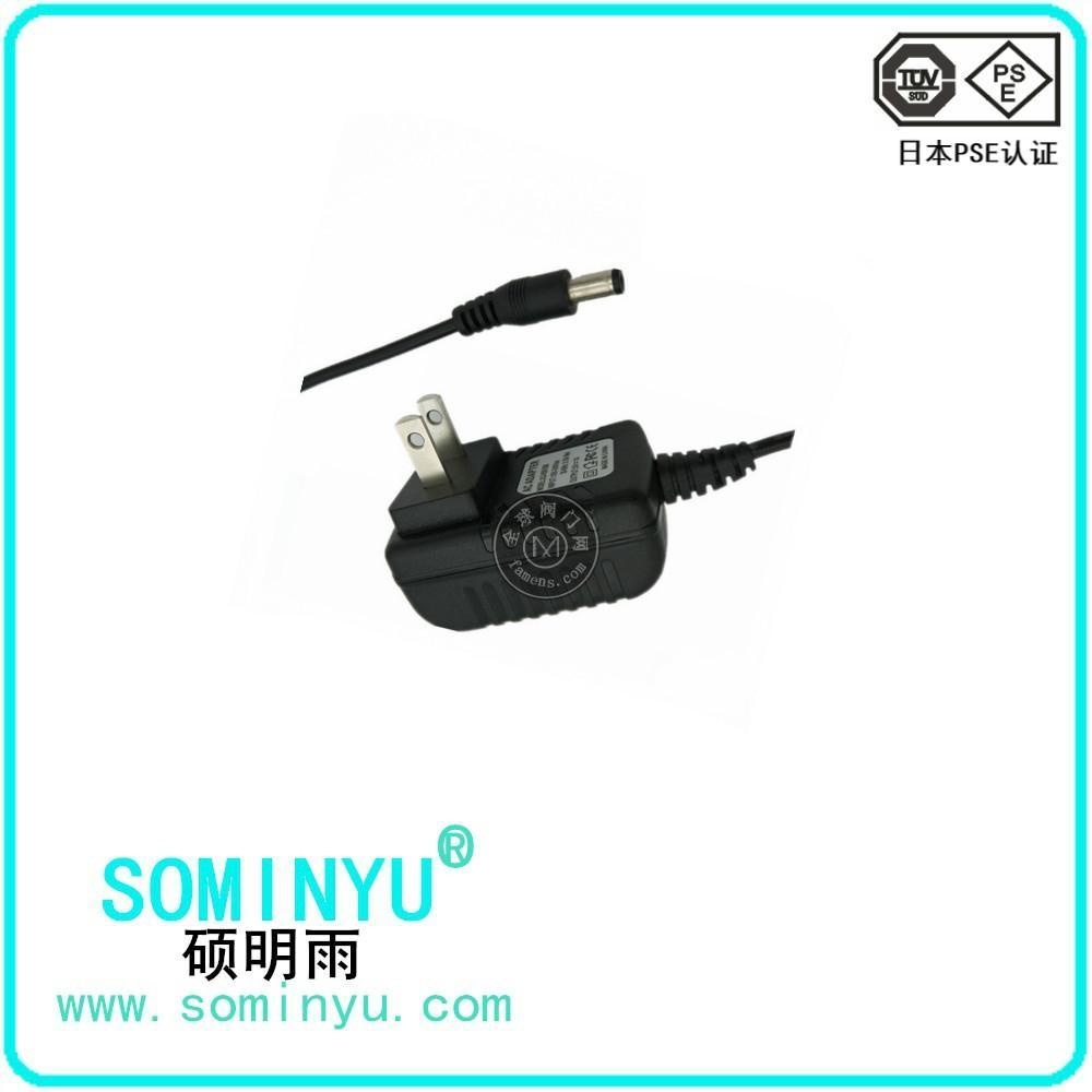 5V1.5過日本PSE認證電源適配器 音箱電源充電器
