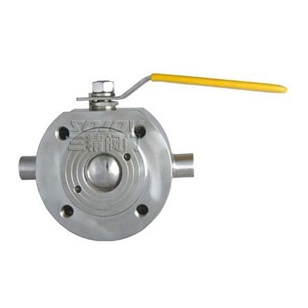 BQ71F對夾式保溫球閥