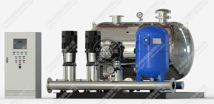 广州市无负压变频供水设备_不锈钢变频水泵机组