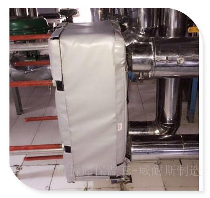 可拆卸式换热器保温套|交换器保温罩|换热器保温衣