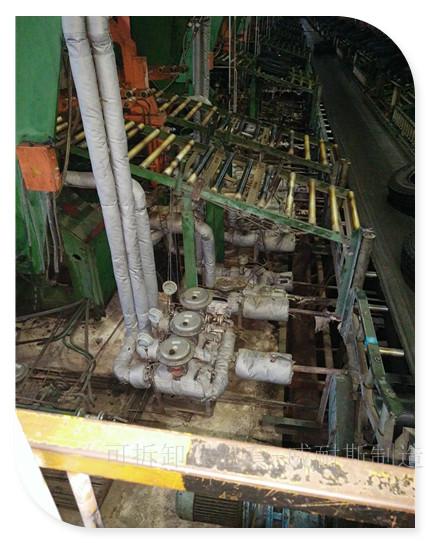 硫化機節能改造 硫化機熱板保溫罩|閥門管道軟保溫套
