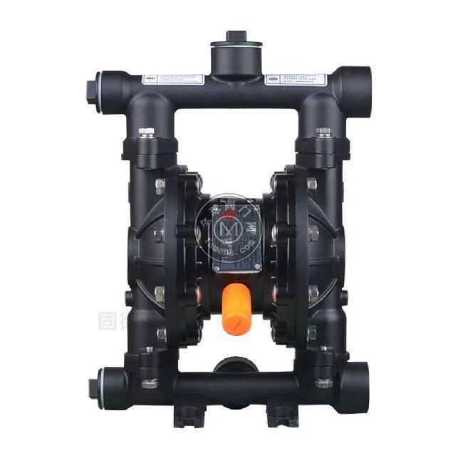河南边锋固德牌第三代气动隔膜泵QBY3-20/25LFFF铝合金