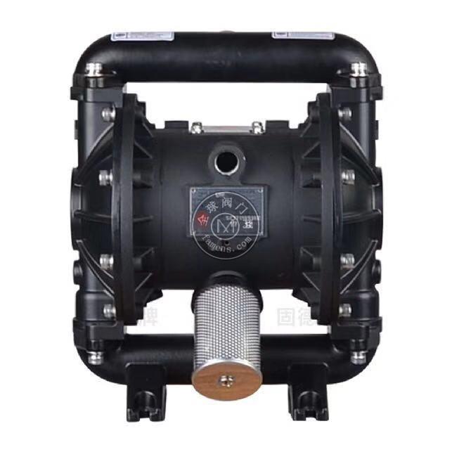 河南边锋固德牌第三代气动隔膜泵QBY3-25ALFFF铝合金