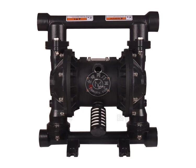 河南边锋固德牌第三代气动隔膜泵QBY3-32/40GFFF铸钢