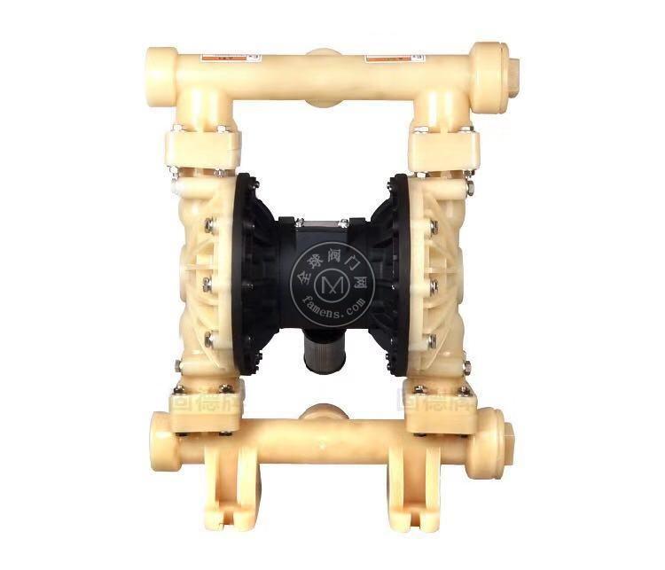 河南边锋固德牌第三代气动隔膜泵QBY3-50/65FFFF全氟