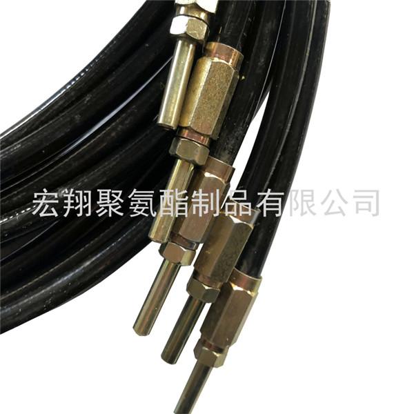 PA树脂黄油软管 润滑系统4.2x8.6高压软管总成