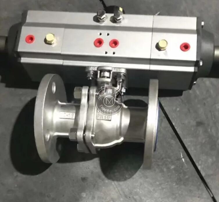 气动球阀 三段式气动 不锈钢球阀