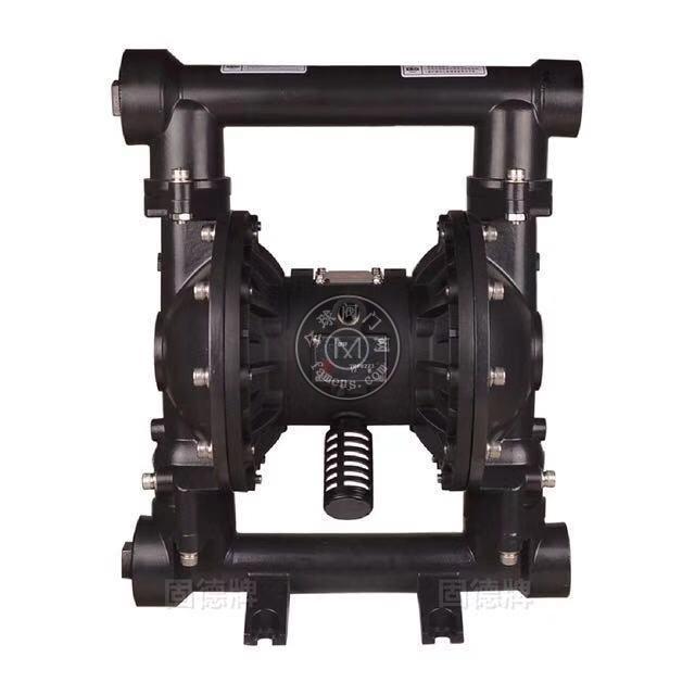 河南边锋固德牌第三代气动隔膜泵QBY3-50/65GFFF铸钢