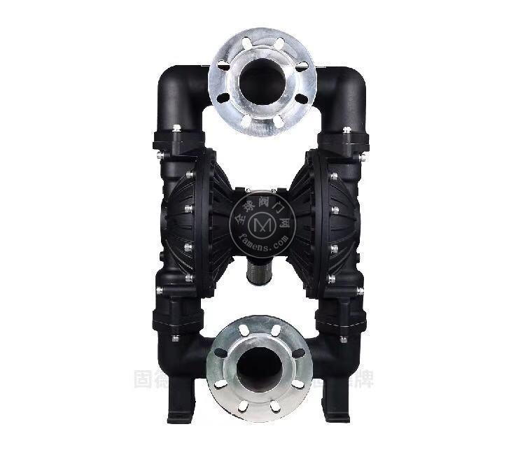 河南边锋固德牌第三代气动隔膜泵QBY3-80/100LFFF铝合金