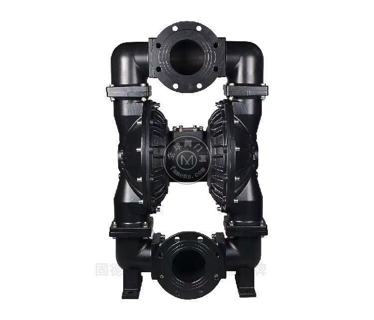河南邊鋒固德牌第三代氣動隔膜泵QBY3-125GFFF鑄鋼