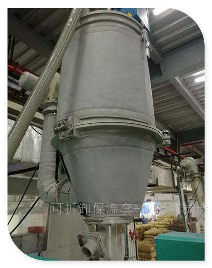 干燥机隔热罩|料斗隔热套|挤出机料筒隔热罩