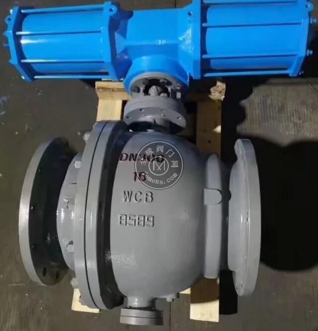 氣動球閥 氣動固定式球閥 氣動硬密封球閥