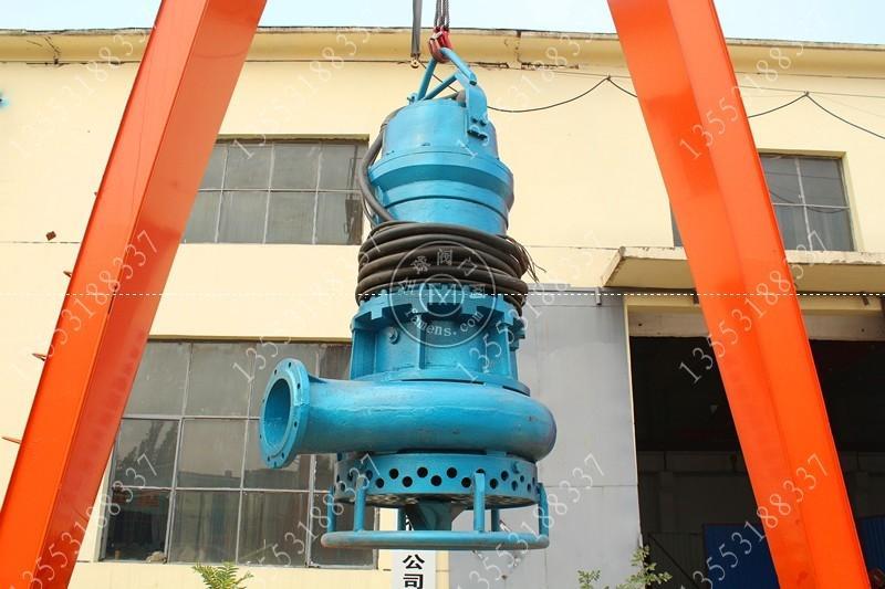 6寸潛水抽沙泵沉井打樁案例
