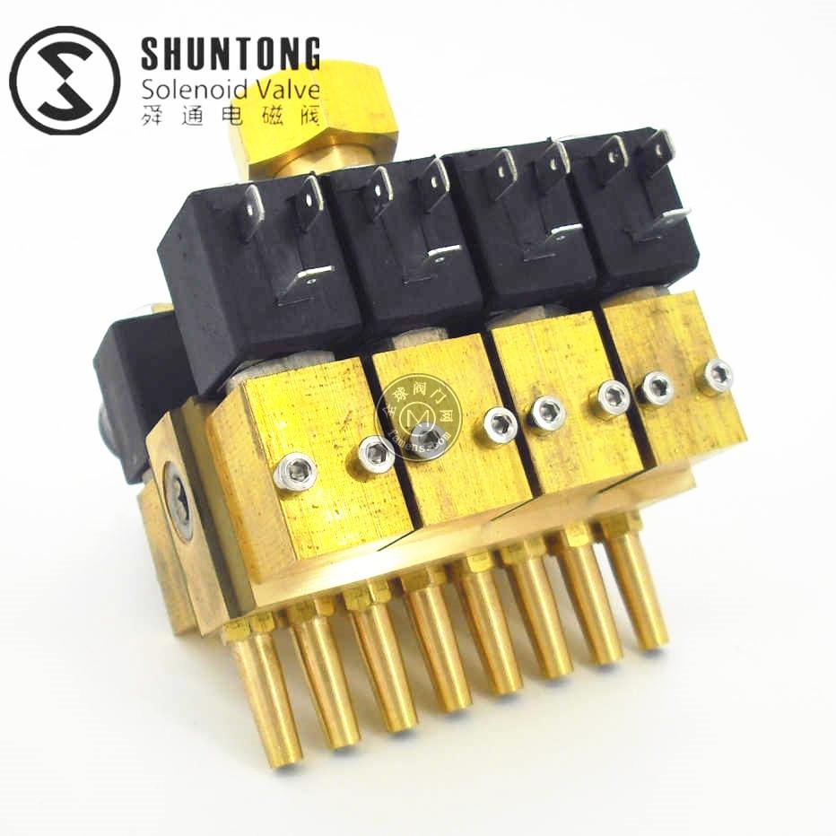 STDF跑泉阀 数码水帘组合电磁阀园林景观电磁阀