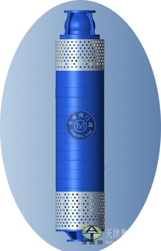 200口径QK型充水式矿用泵