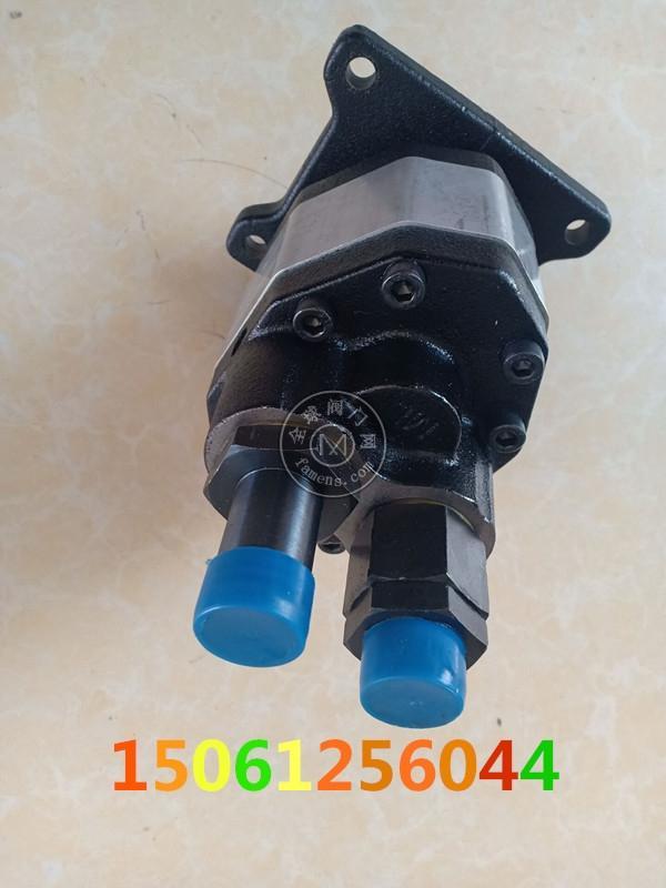 神力液壓齒輪泵CB-MHP63液壓油泵隨車吊吊車專用 蘭考吊車機械