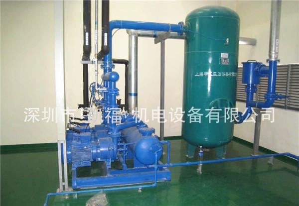 NASH真空泵中心負壓吸引系統+PLC自動電控