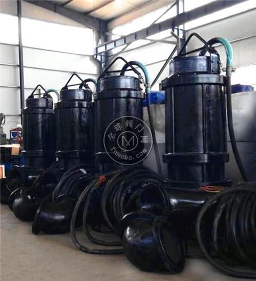 潜水抽沙泵 搅拌式耐磨抽沙泵