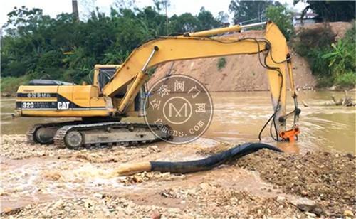 挖掘机匹配液压动力清淤泵 耐磨挖机清淤泵