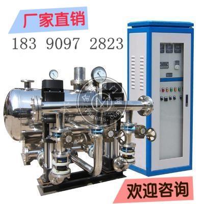 湖南益阳无负压供水设备的产品特点