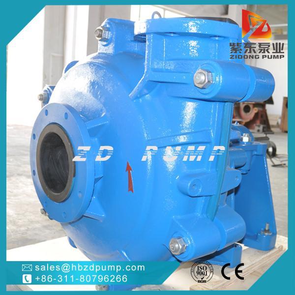 AHR橡膠內襯渣漿泵,礦用耐腐蝕灰漿泵