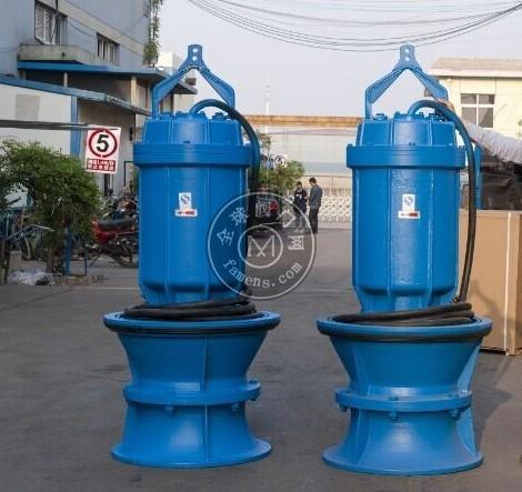 350mm潛水軸流泵_氣蝕性_性能穩