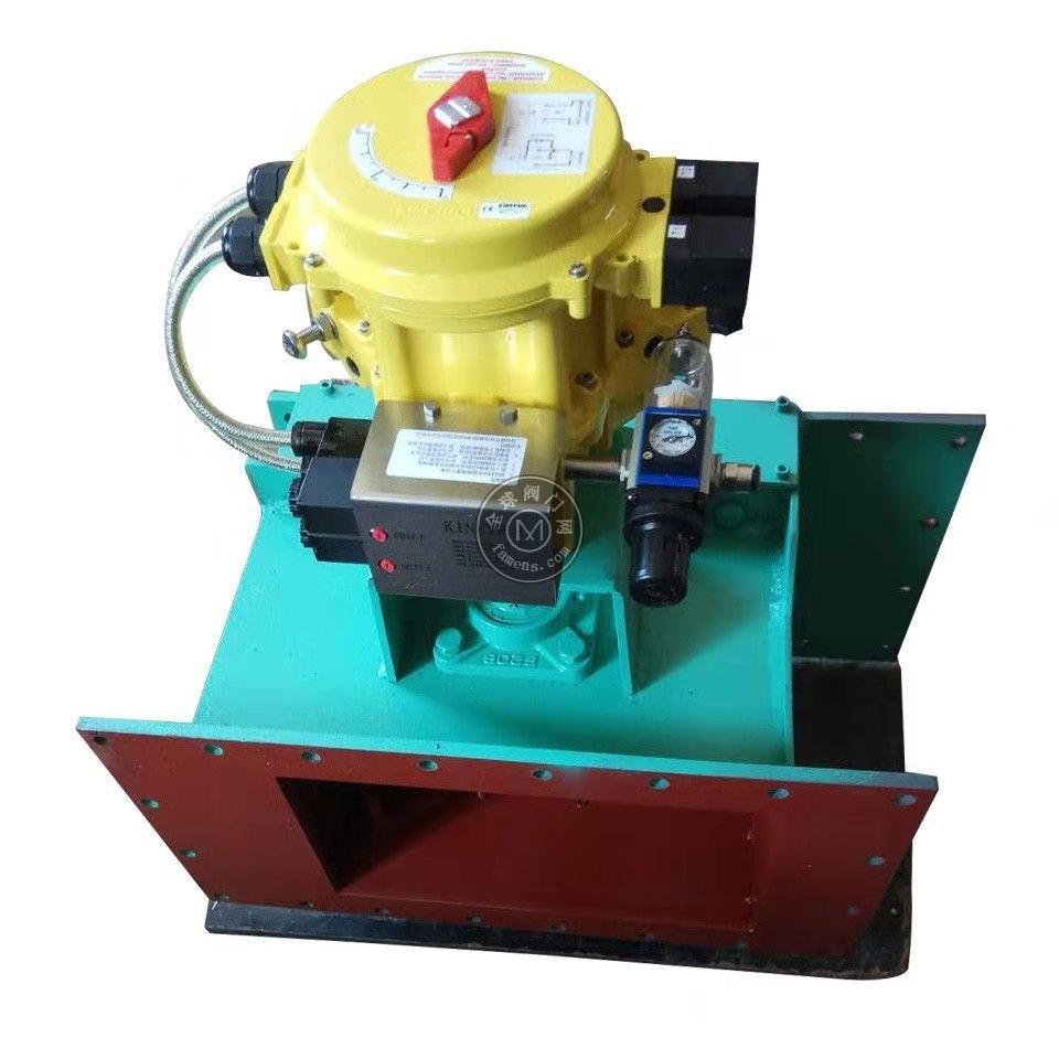气动流量阀400*400肯呐特气缸定位器