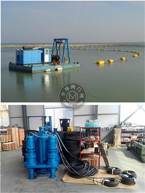 博山產-大功率潛水抽沙泵,耐磨攪拌抽沙機