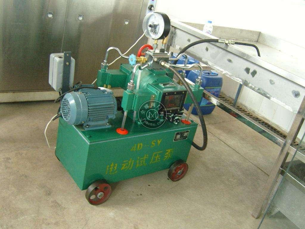 順源升級款4DSY-10型電動試壓泵高壓流量大